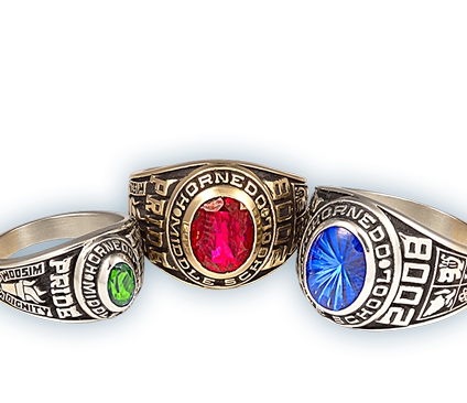 Middle School Class Rings