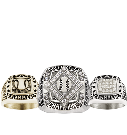 Youth Baseball Championship Rings