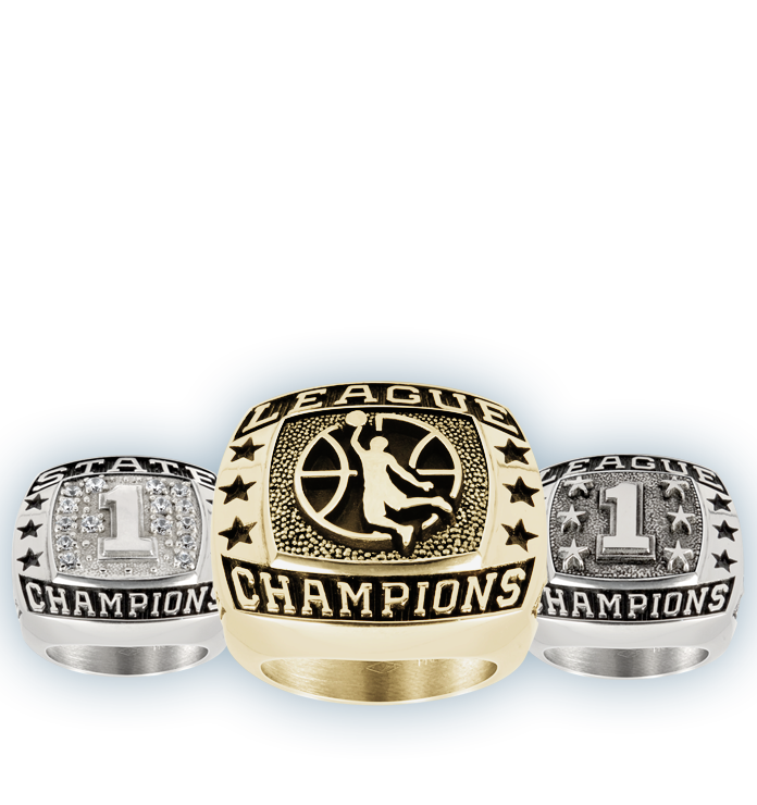 Youth Basketball Championship Rings