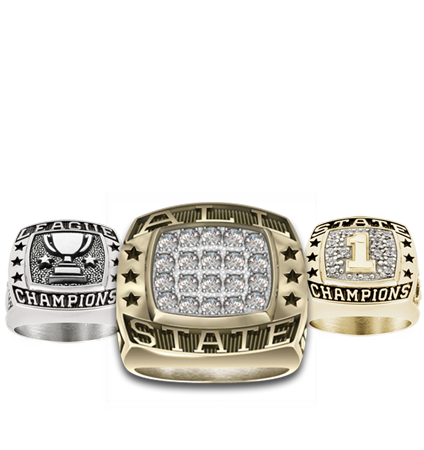 Cross Country Championship Rings