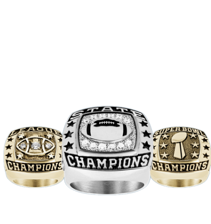 Youth Football Championship Rings
