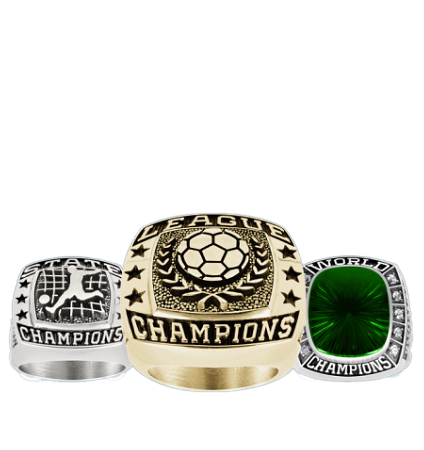 Youth Soccer Championship Rings