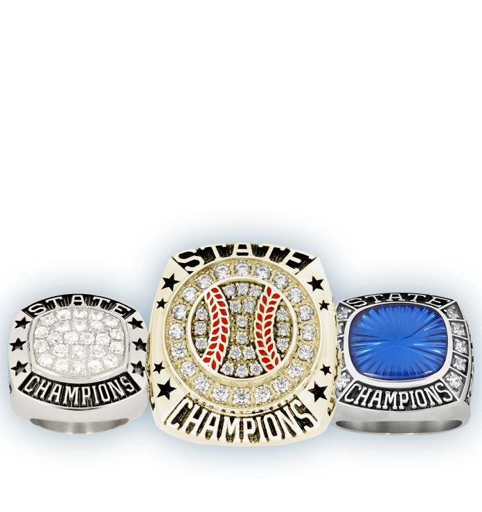 Fantasy Softball Championship Rings