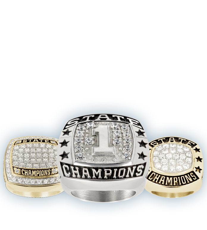 Swimming Championship Rings