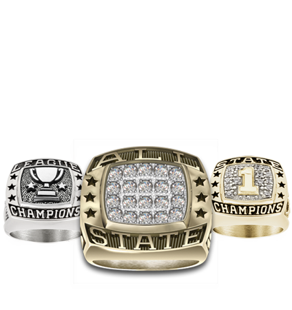 Track & Field Championship Rings