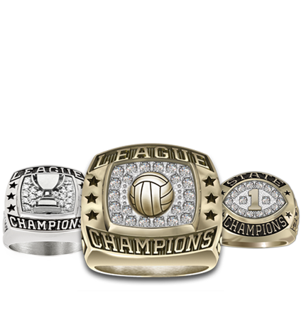 Volleyball Championship Rings